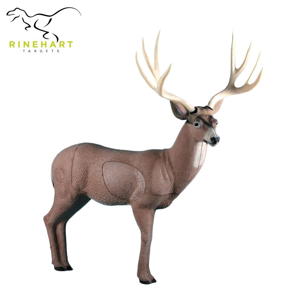 3D terčovnice obří jelen mezka