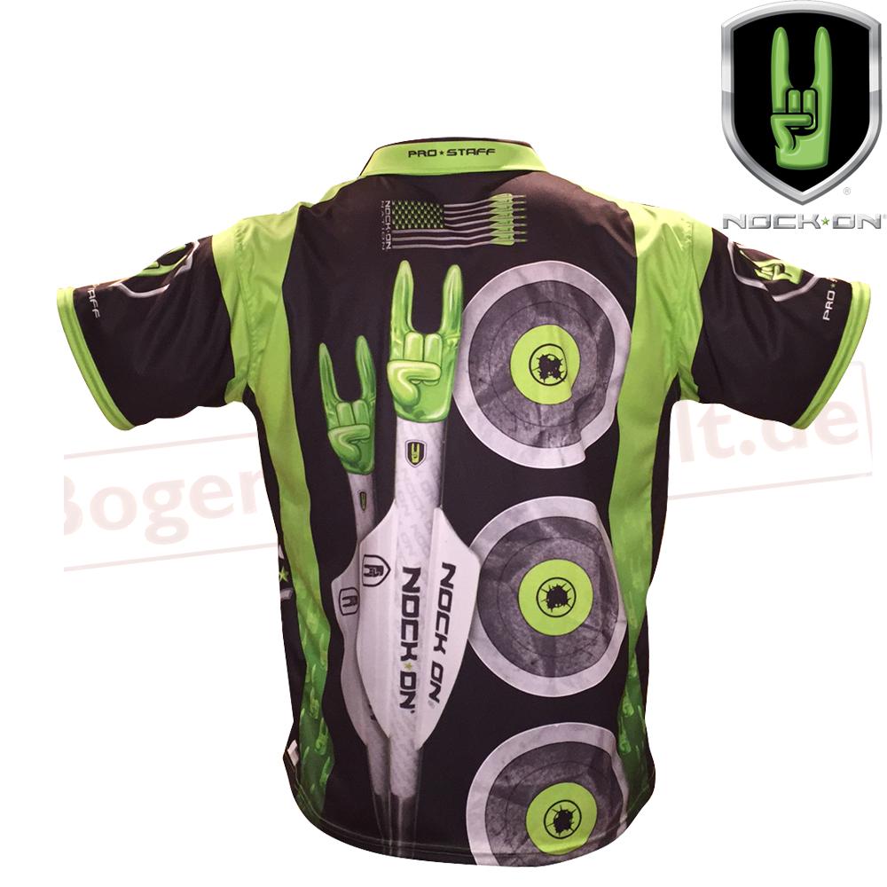 Tričko s límcem Nock On Jersey Green Dámské