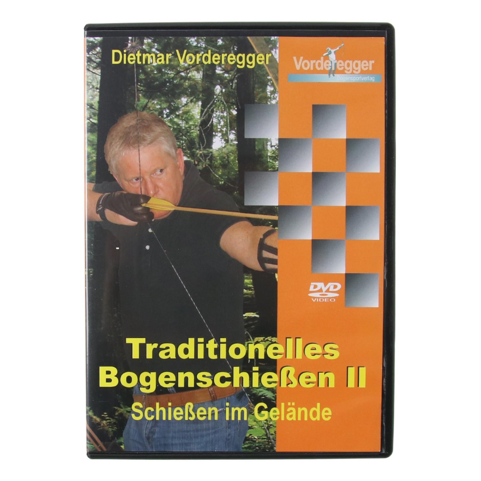 DVD - Tradiční lukostřelba II Traditionelles Bogenschießen II -