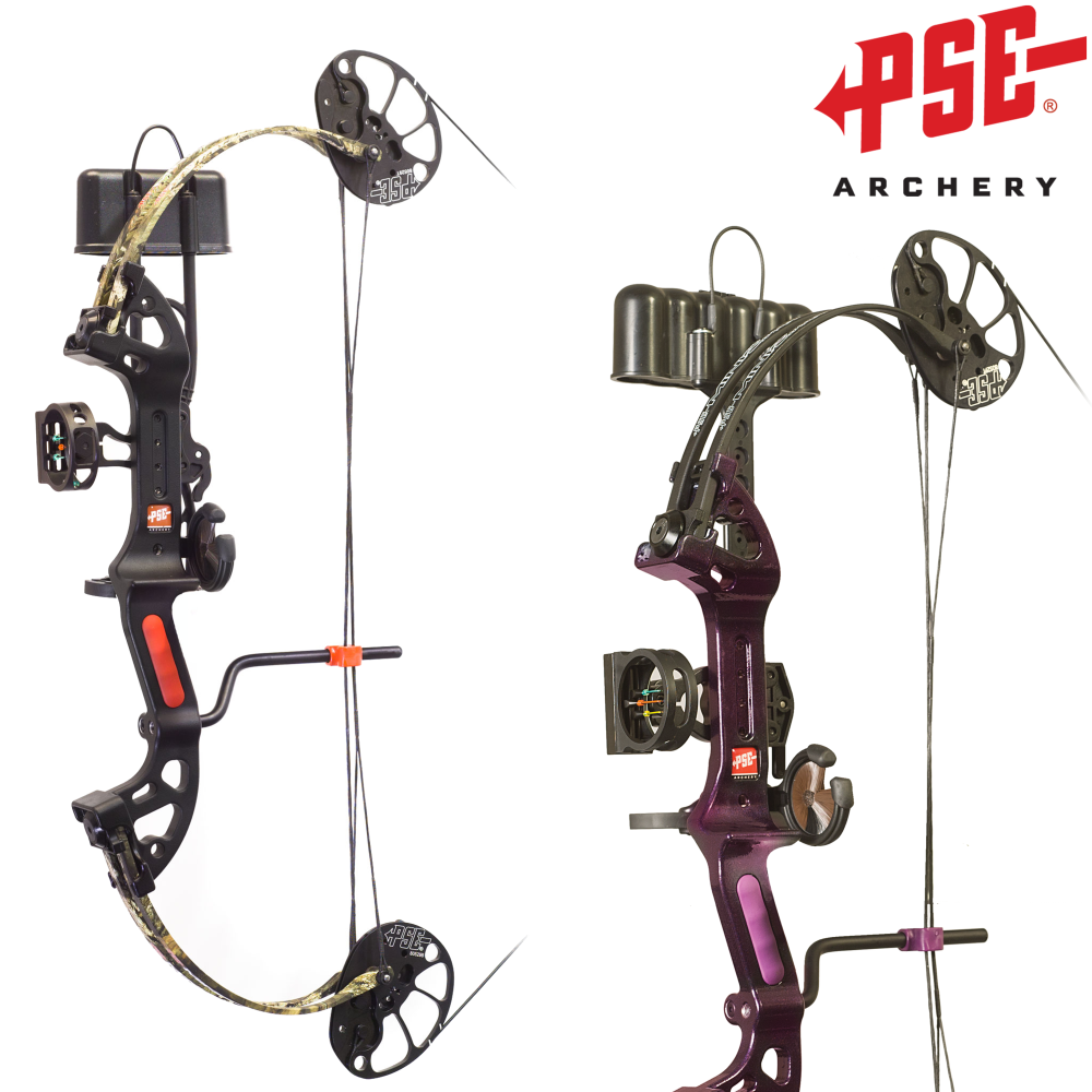 Kladkový luk PSE Miniburner XT SET 2017