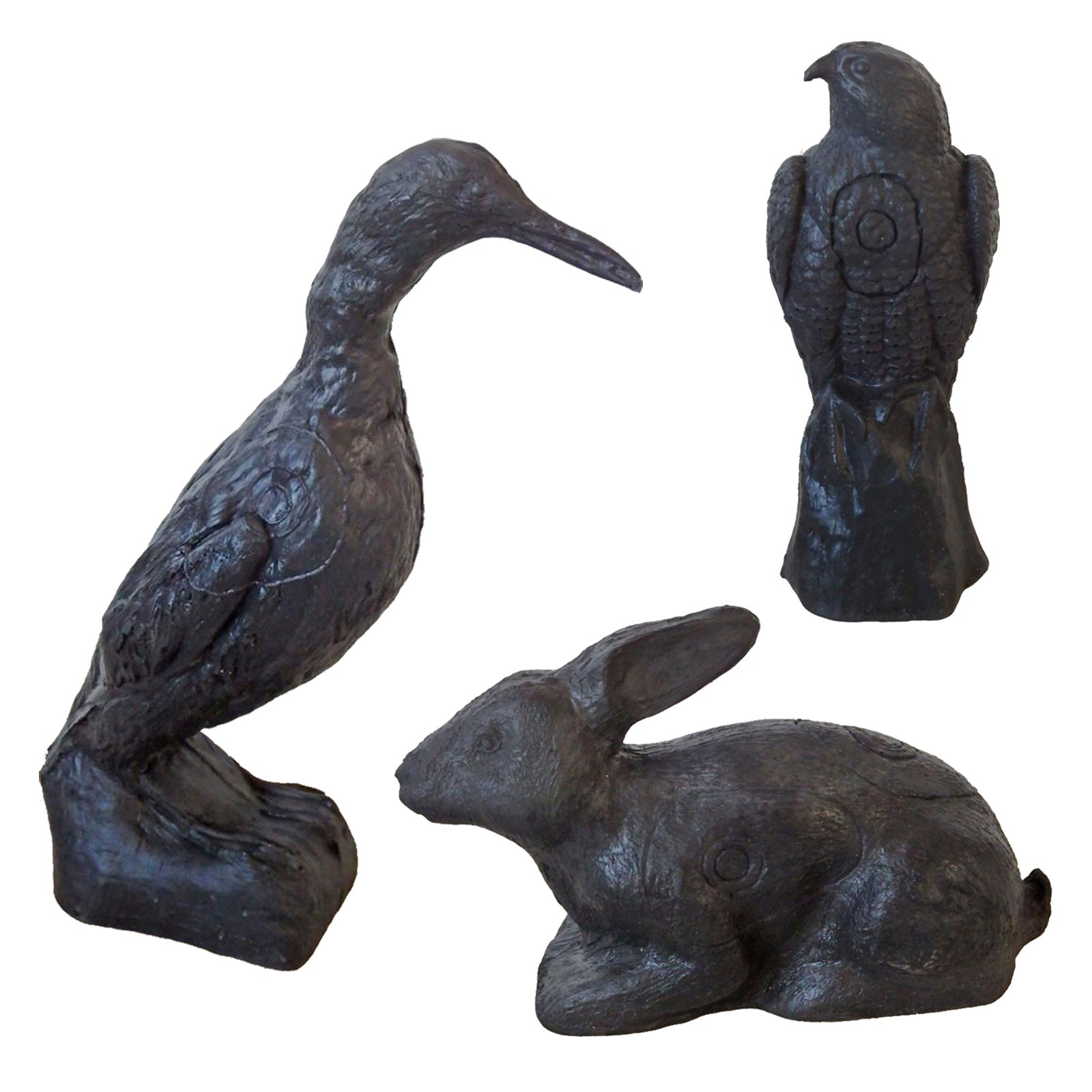 3D terč sada 3 zvířatek