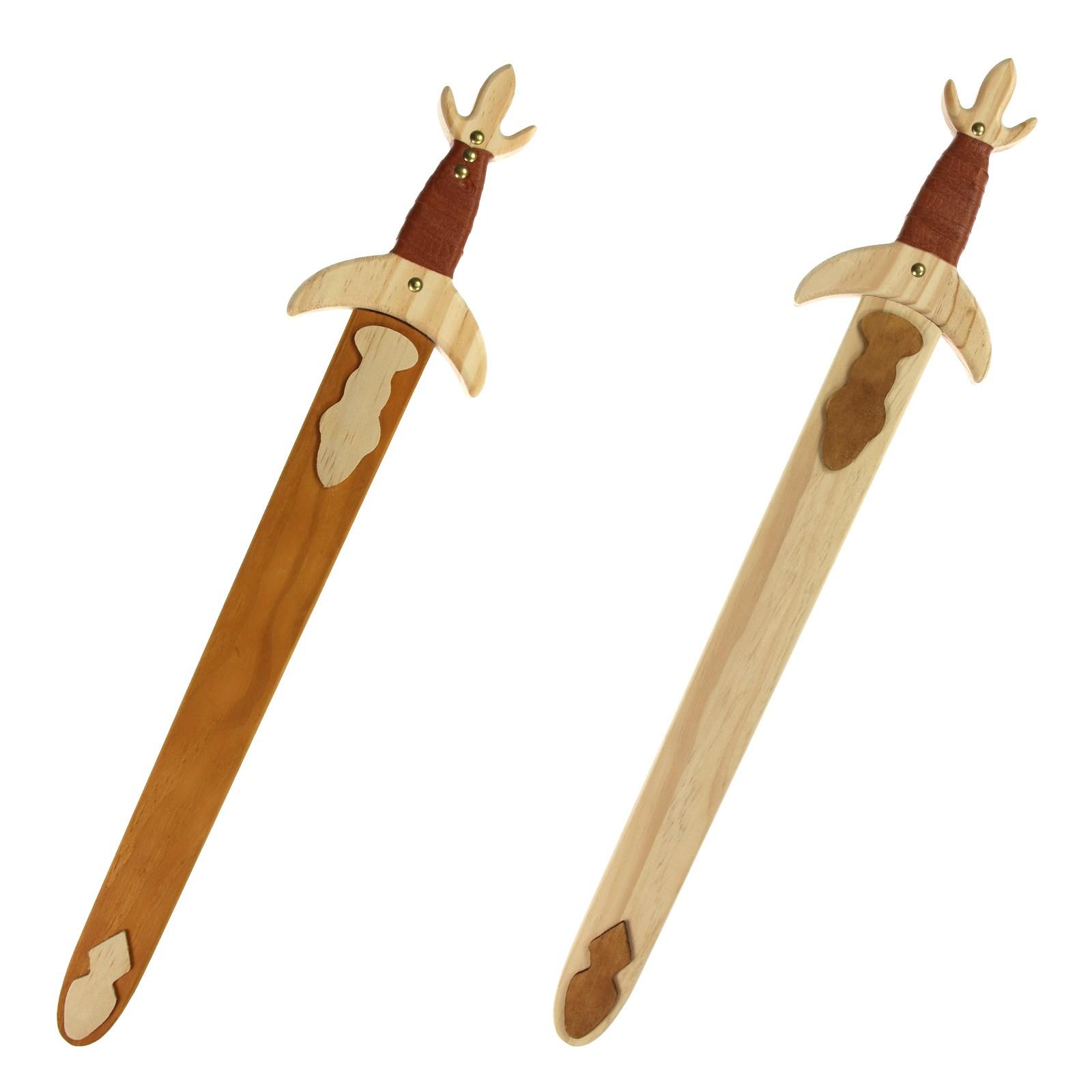 Drevený meč s plášťom