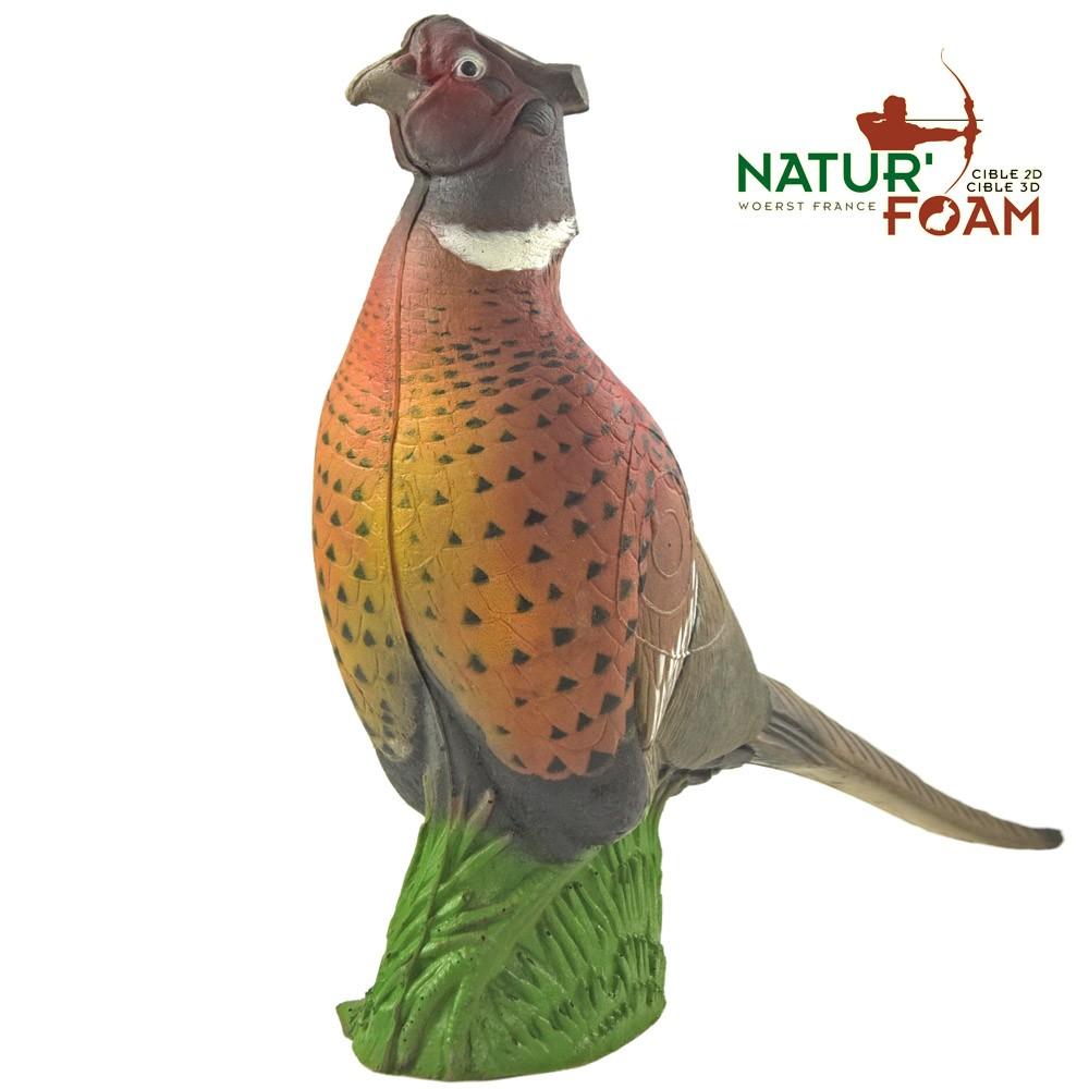 3D terčovnice Bažant Naturfoam II